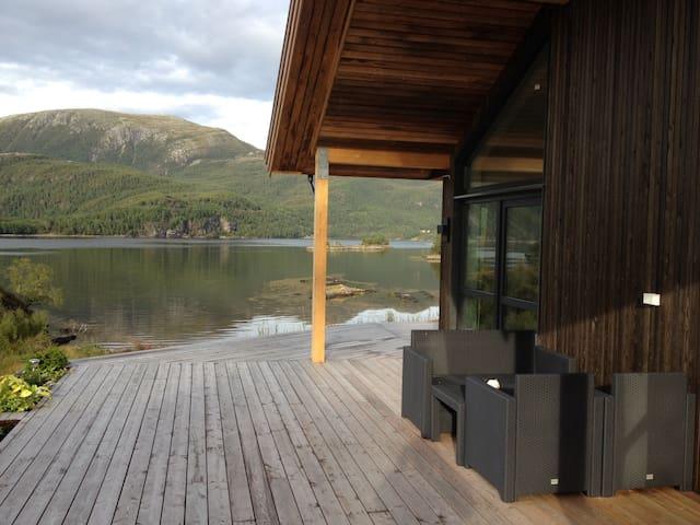 Vacationhome with stunning seaview! - Skardsøya, Vihalsen - House