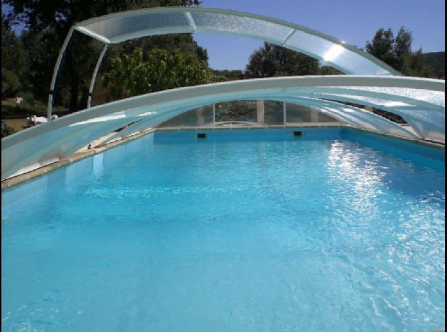 piscine 13 m * 5.5 m