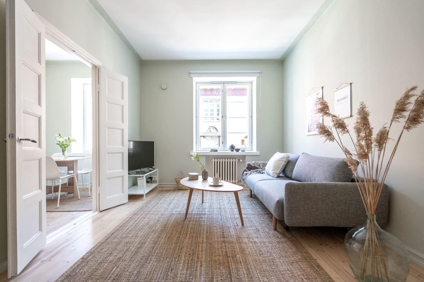 Newly renovated with scandinavian style standards.