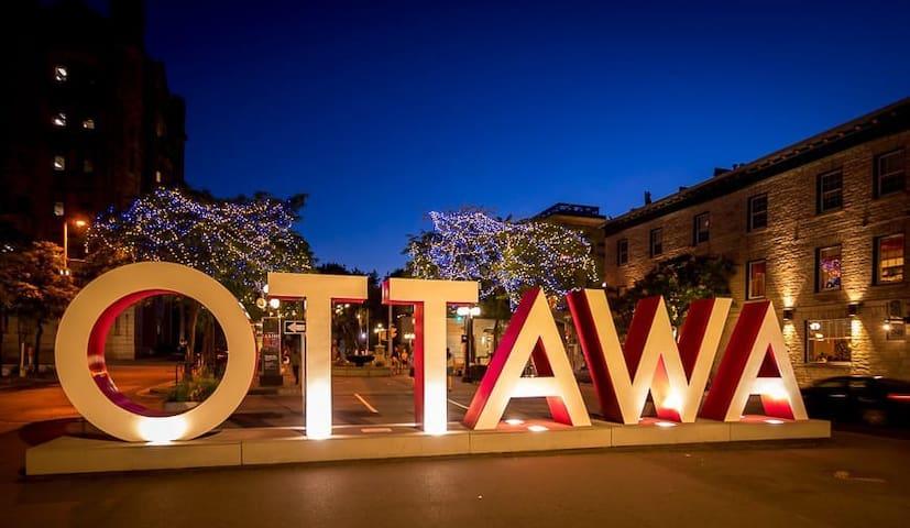 DT Ottawa l Urban & Spacious 2 BRD w/Parking!