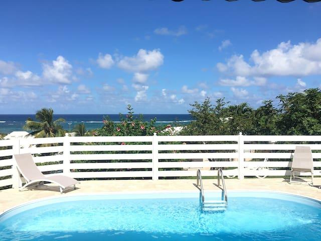 Perle des Caraibes Vue mer exeptionnelle!