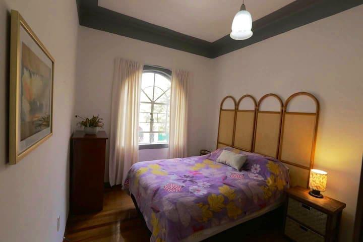 Habitación privada y confortable en la Roma.