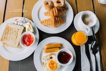Breakfast is available at additional charge open from 06.30 - 10.30 hrs.