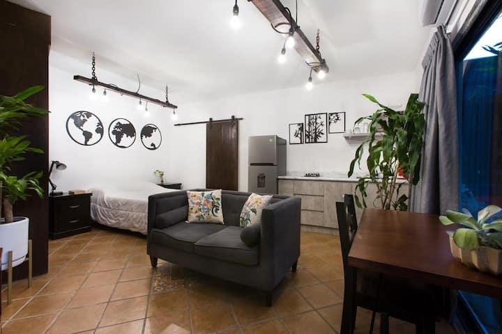Departamento Loft con Alberca En Monterrey