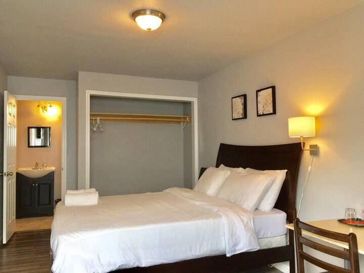 Unit #2 1BD/1BA- Private Room in Alviso, SJ