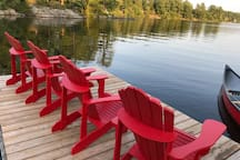 10 comfy deck chairs to choose from !