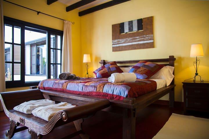 El Palmeral de Aganada, La Balinesa - Haría - Bed & Breakfast