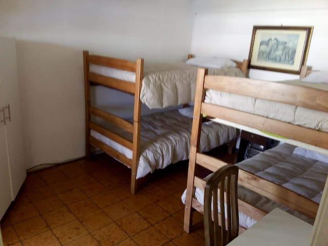Hostal Temuco habitación triple