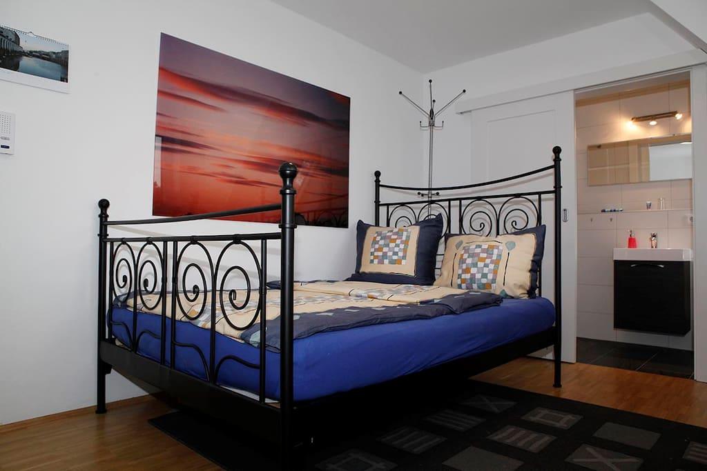 französisches Bett 140cm x 2m für 2 Personen
