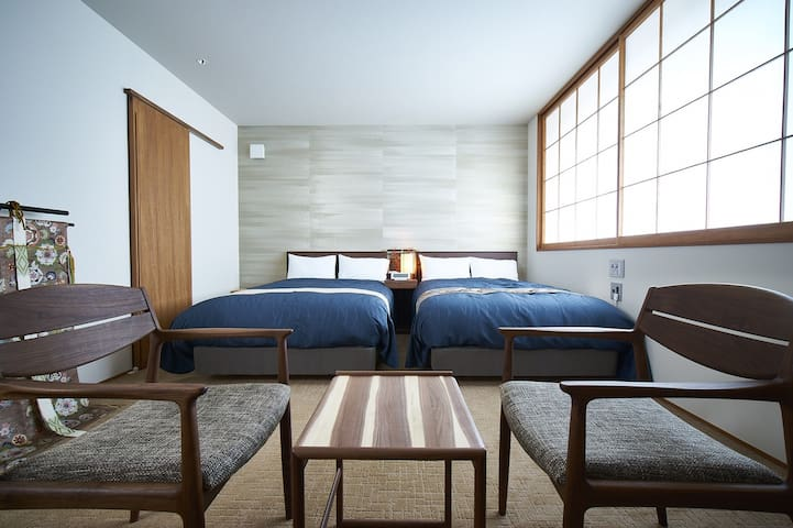 【301】Design Hotel Max4 people incl children
