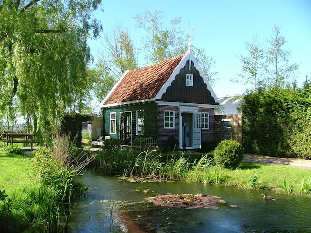 Bungalow & breakfast near Amsterdam Zaans schans