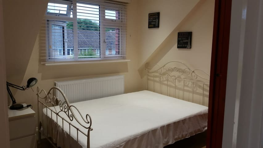 Charming loft en-suite double room