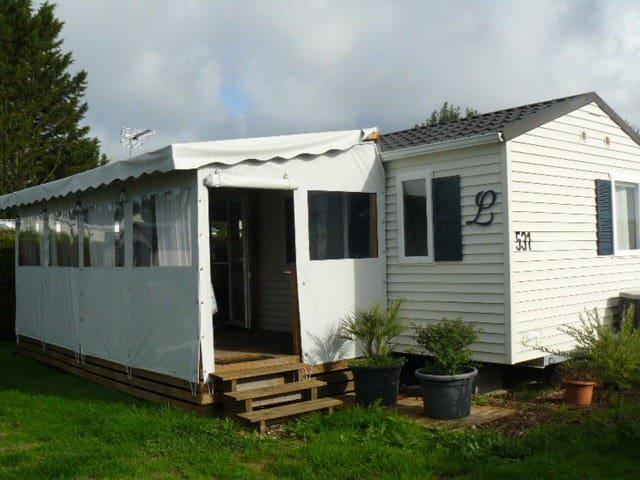 Mobil-home dans camping 5* Deauville / St Arnoult