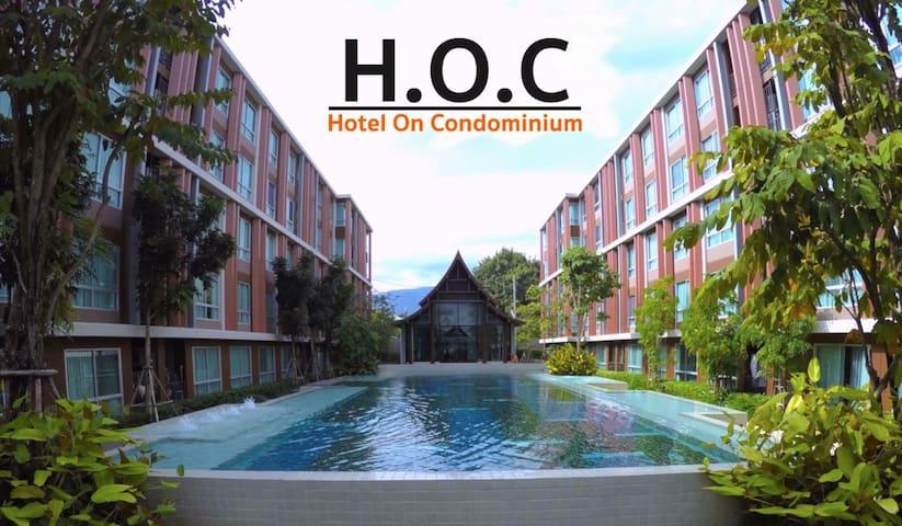 H.O.C 2 : Perfect Daily Apartment - Chiang Mai - Lägenhet