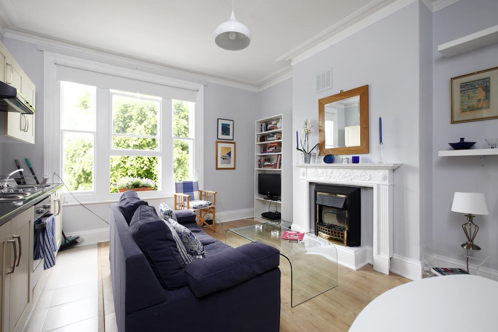 Lovely sunny front room