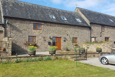 Three bedroom converted barn on organic farm - Monmouthshire - House