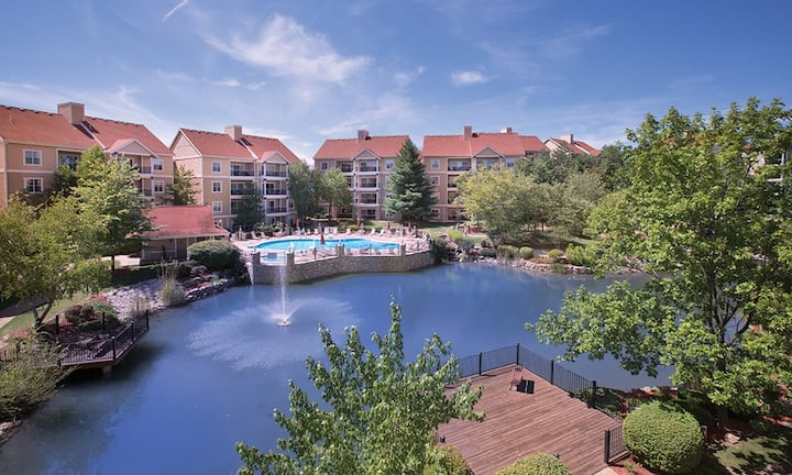 2 Bedroom Club Wyndham Branson@the Meadows