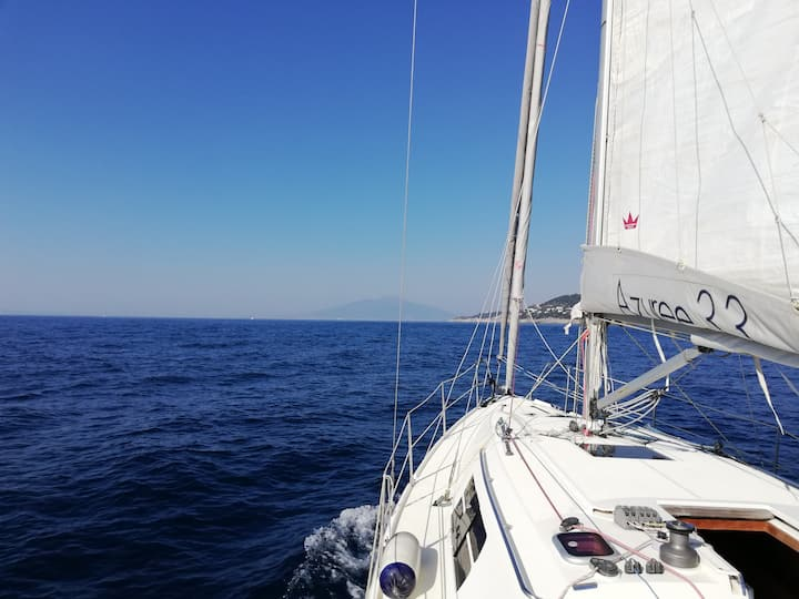 Sporty dream holiday and sailing in Amalfi coast
