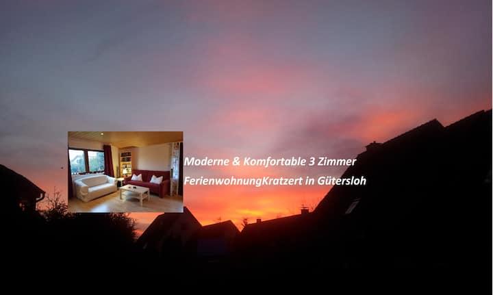 Ferienwohnung  Gütersloh/2. Schlafzimmer zubuchbar