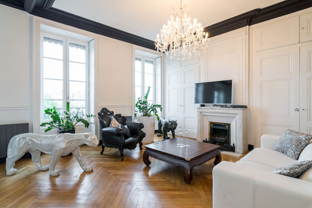 appartement haussmannien lyon 2 apartments for rent in lyon rh ne alpes france. Black Bedroom Furniture Sets. Home Design Ideas