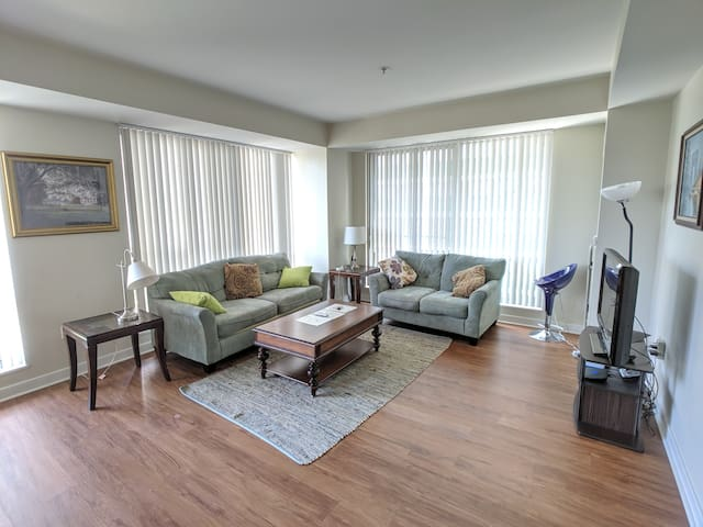 Large Comft 1 Bd Apt Quite and Safe Nbh Across MGH