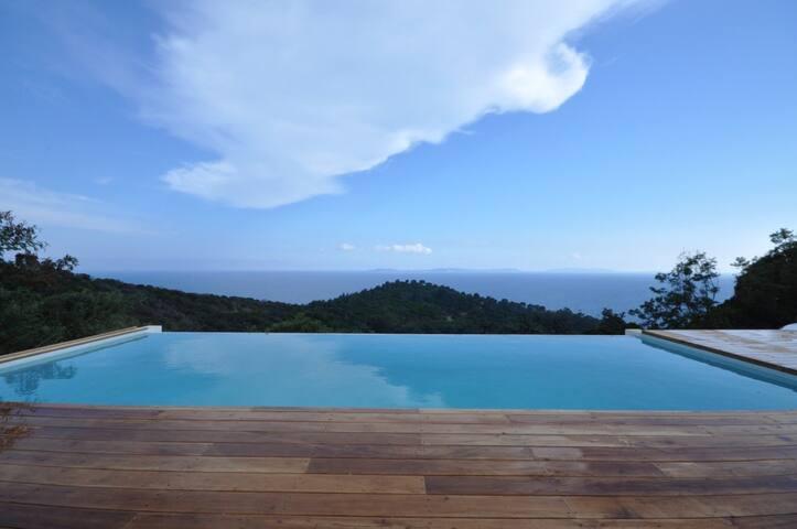 Villa Levante * Villa deluxe, 180° seaview, 130m2