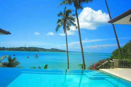 Beach front Noble House Villa (for 2 bedrooms) - Phuket