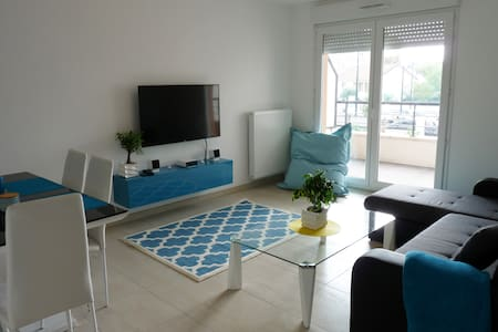 Cosy apartment at Melun near Paris & Fontainebleau - Wohnung