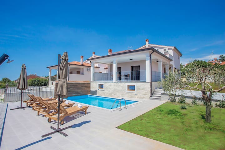 Brand new and modern Villa Branka with Pool - Kaštelir