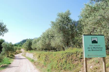Viu la Muntanya de Montserrat. - Collbató - Haus