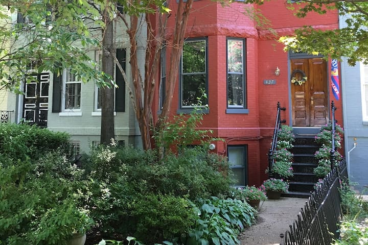 Historical Row Home steps from the Capitol