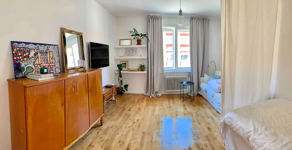 Cosy apartment 10 minutes away from city centre.