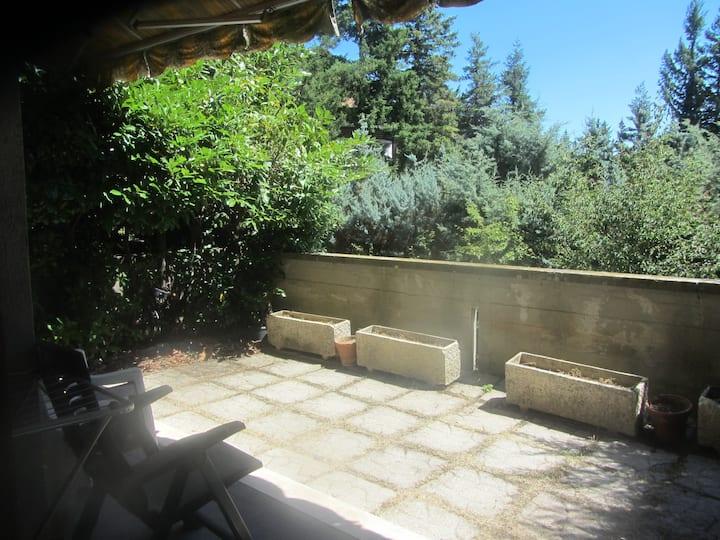 Un fresco giardino a pochi km da Roma