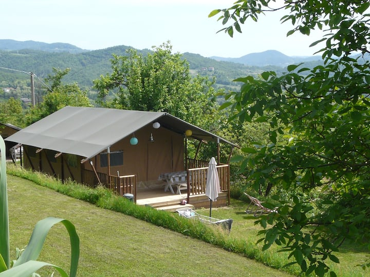 Luxury safari/lodge tents for rent in Piedmont