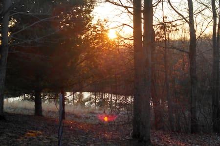 Wilkesville Cabin - Albany - Blockhütte