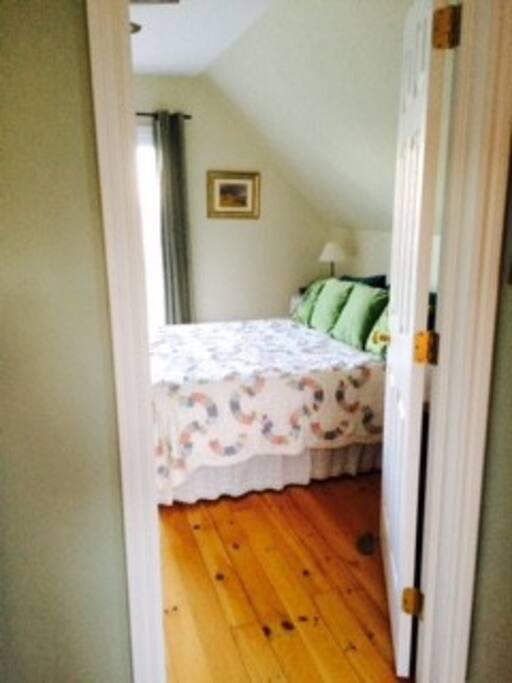 Bedroom 1 with outdoor deck