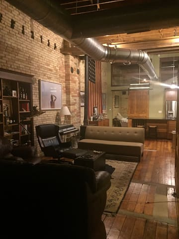 Very unique loft large condo!