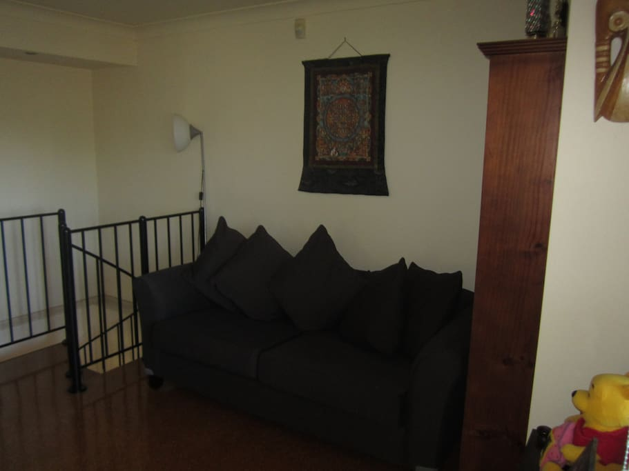 Couch in living area