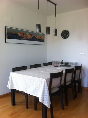 A luminous apartment - Puente la Reina de Jaca - House