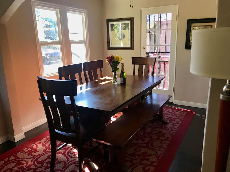 New 6 person dining table just added