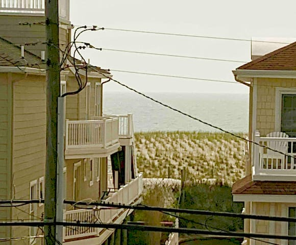 Lovely Living on LBI, steps from the beach.