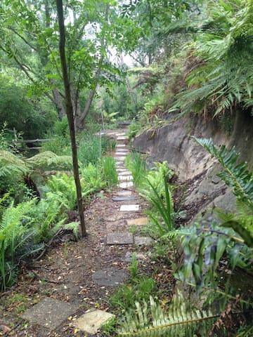 The creek retreat area