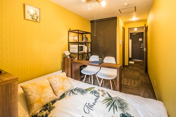 Clean and comfortable room near Kyoto Station/403、