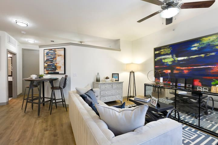 Spacious 1bedroom in North Loop