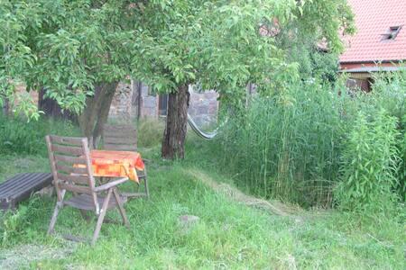 Gemütliches Häuschen in der Uckermark - Flieth-Stegelitz - Casa