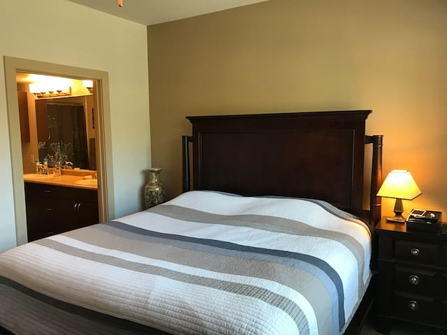Comfortable Private Bedroom Suite - Mansfield - Apartment