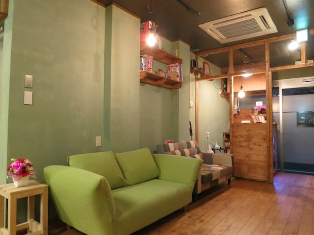 Mix Dorm / Near the Onsen / No Cleaning fee! #2C