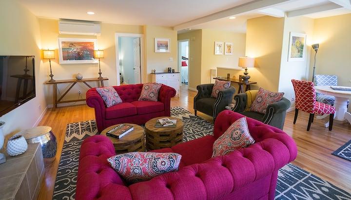 Napa Valley Retreat in Calistoga (Aurora House)