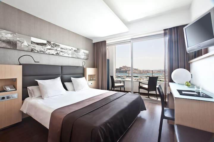 Frontal Sea View Deluxe Room at Hotel OD Ocean Drive - Marina Botafoch