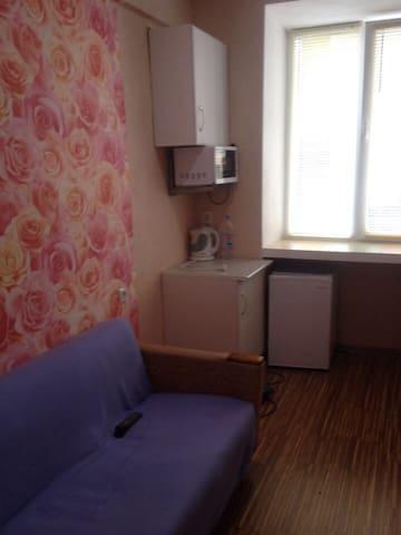 Уютная комната комфортная для проживания - Ufa - Dormitorio compartido